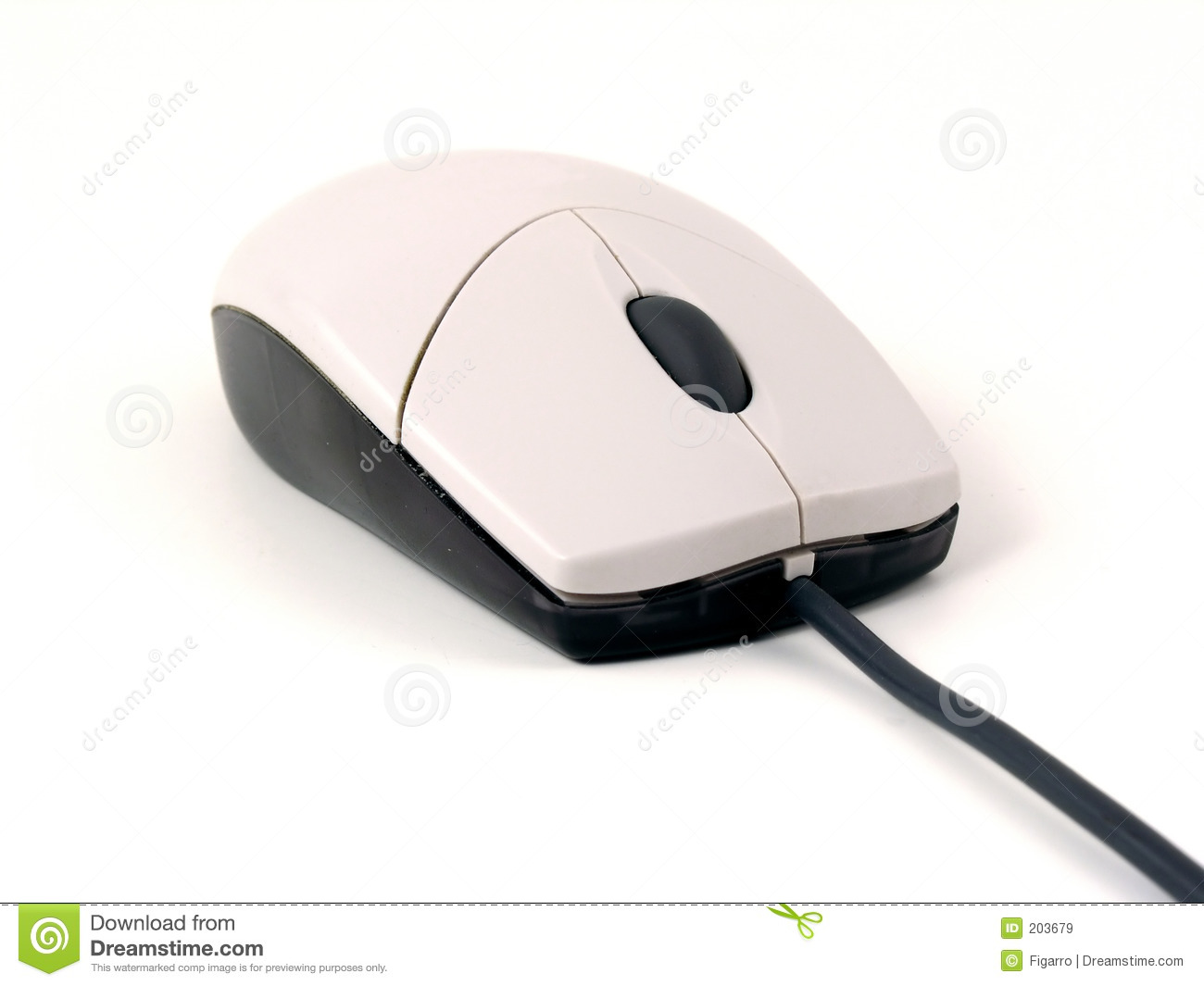 Typical optical mouse