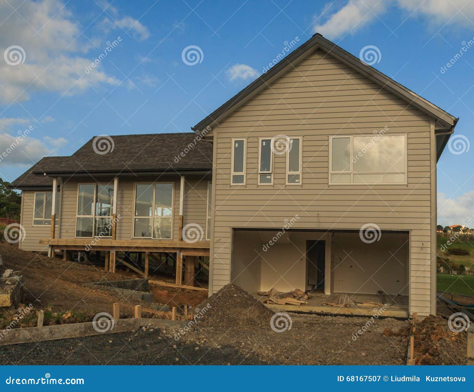Typisch huis van moderne bouw in nieuw zeeland auckland for Moderne bouw