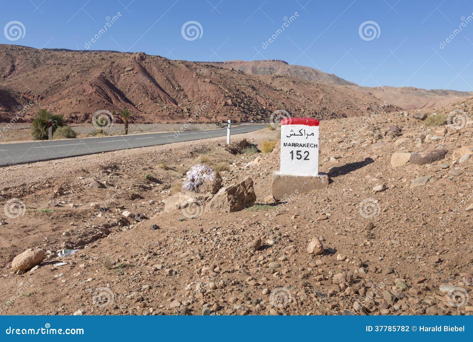 Typisch marokkaans landschap stock fotografie afbeelding 37785782 - Marokkaans ajoure teken ...