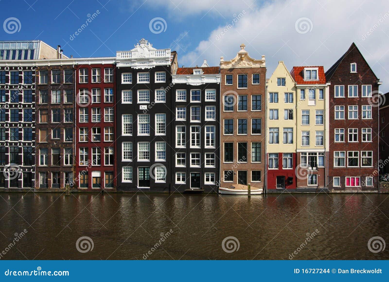 Häuser In Holland : typische amsterdam h user in holland stockfoto bild von haus stadt 16727244 ~ Watch28wear.com Haus und Dekorationen