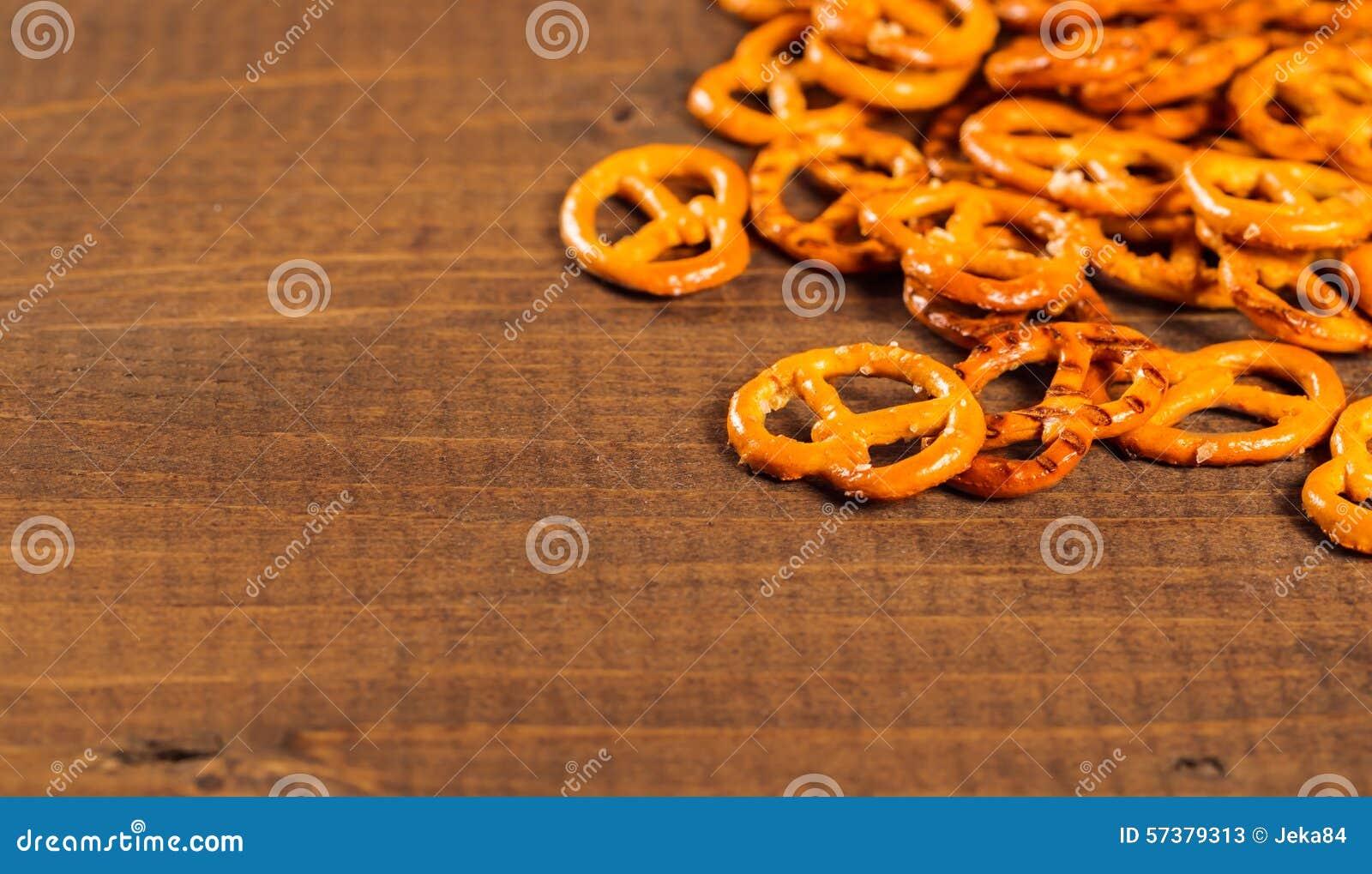 Typische Beierse pretzel