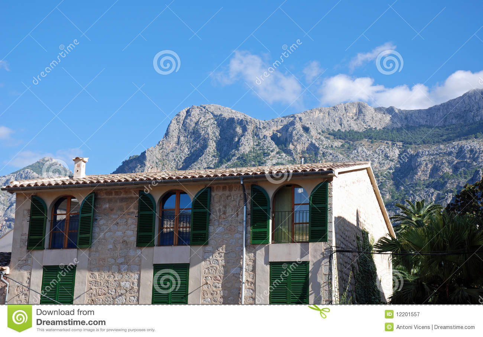 Typisches Haus in Majorca