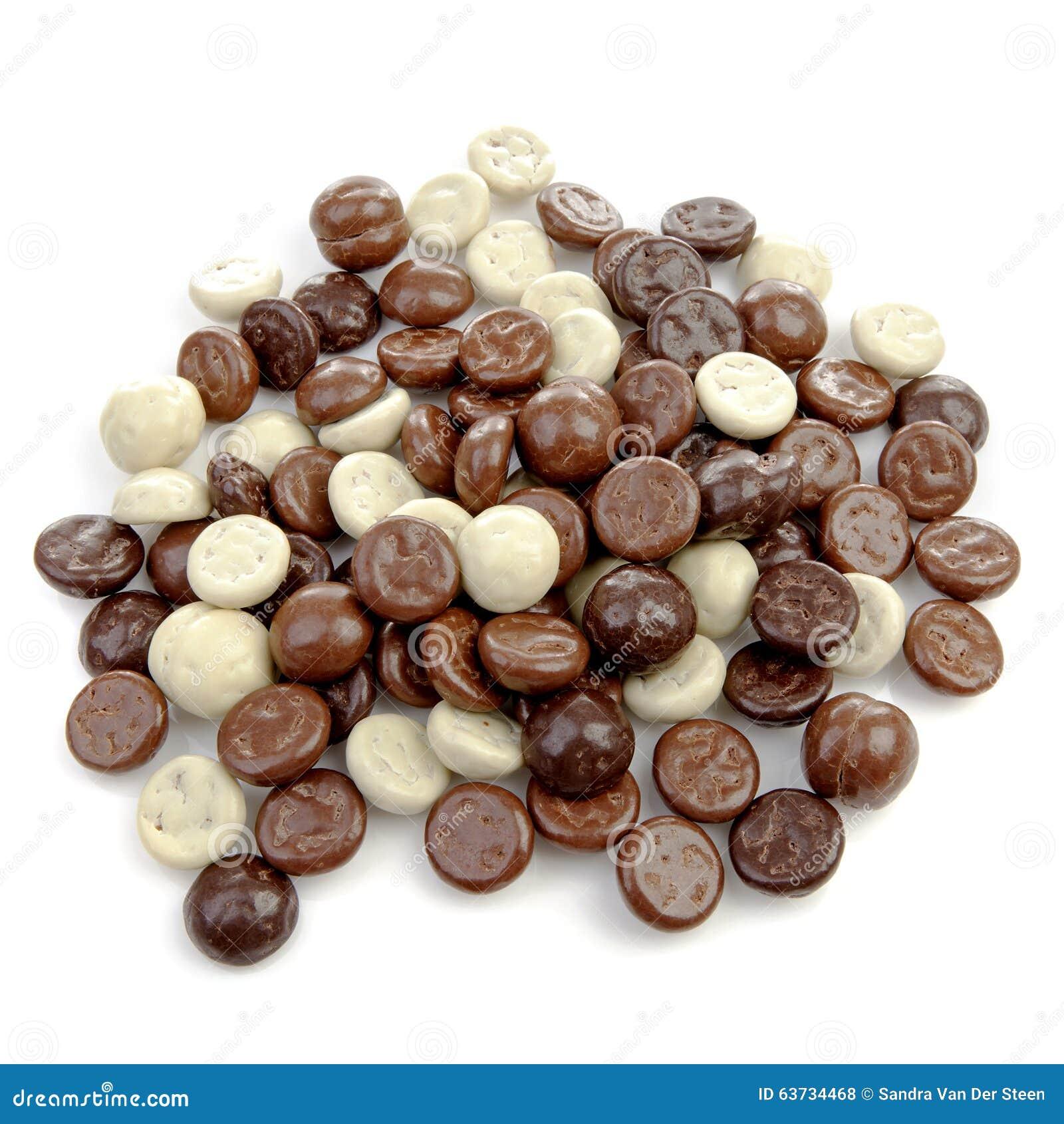 Typiska holländska sötsaker: choklad pepernoten (ingefärskakor)