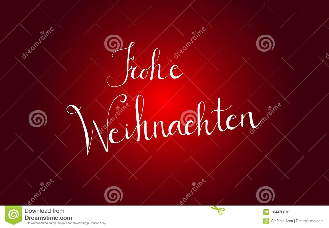 How Do You Say Merry Christmas In German.Typographic Merry Christmas Banner Lettering Merry