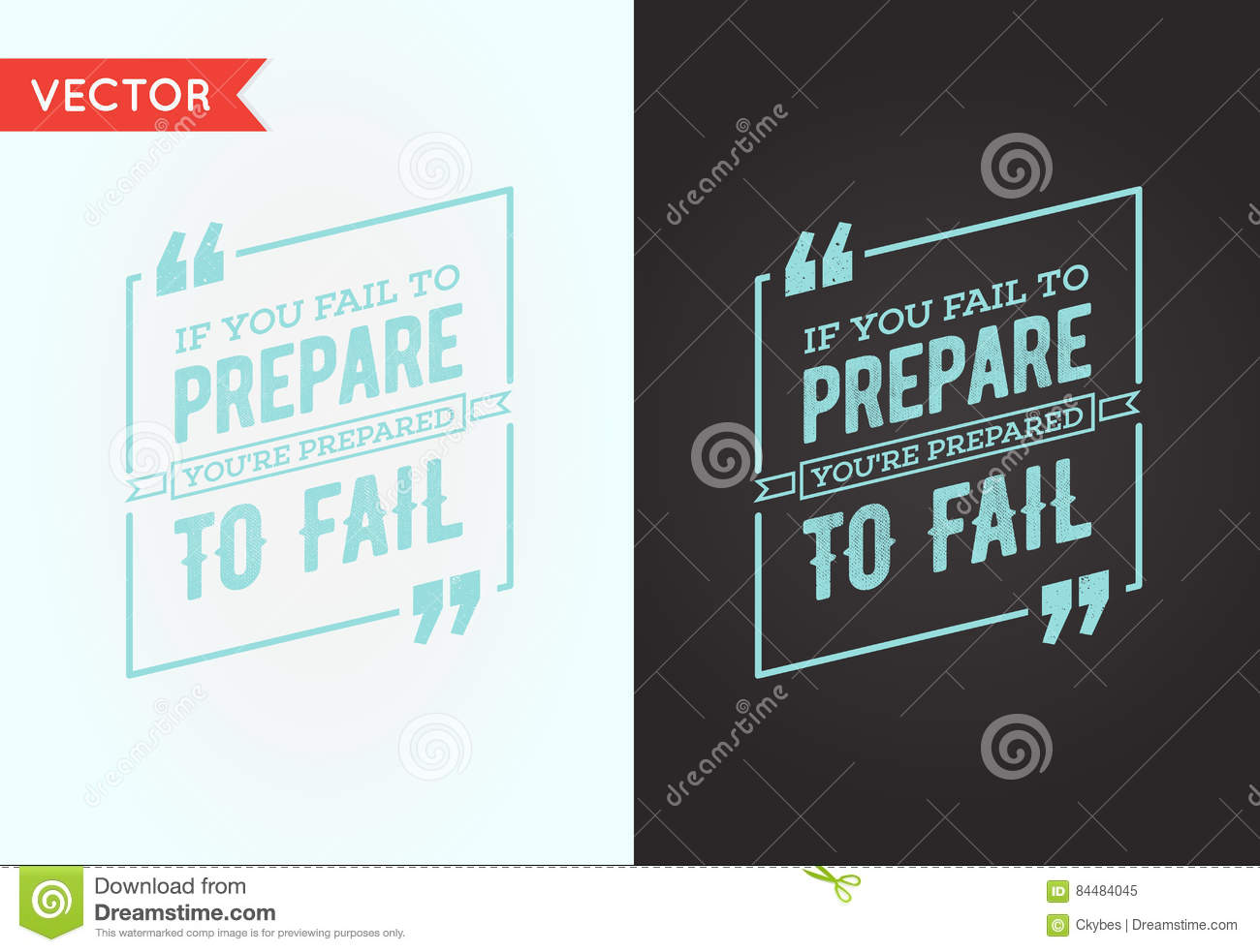 Typographic Quote Template Bubble. Template Vector Quote Set. Tr ...