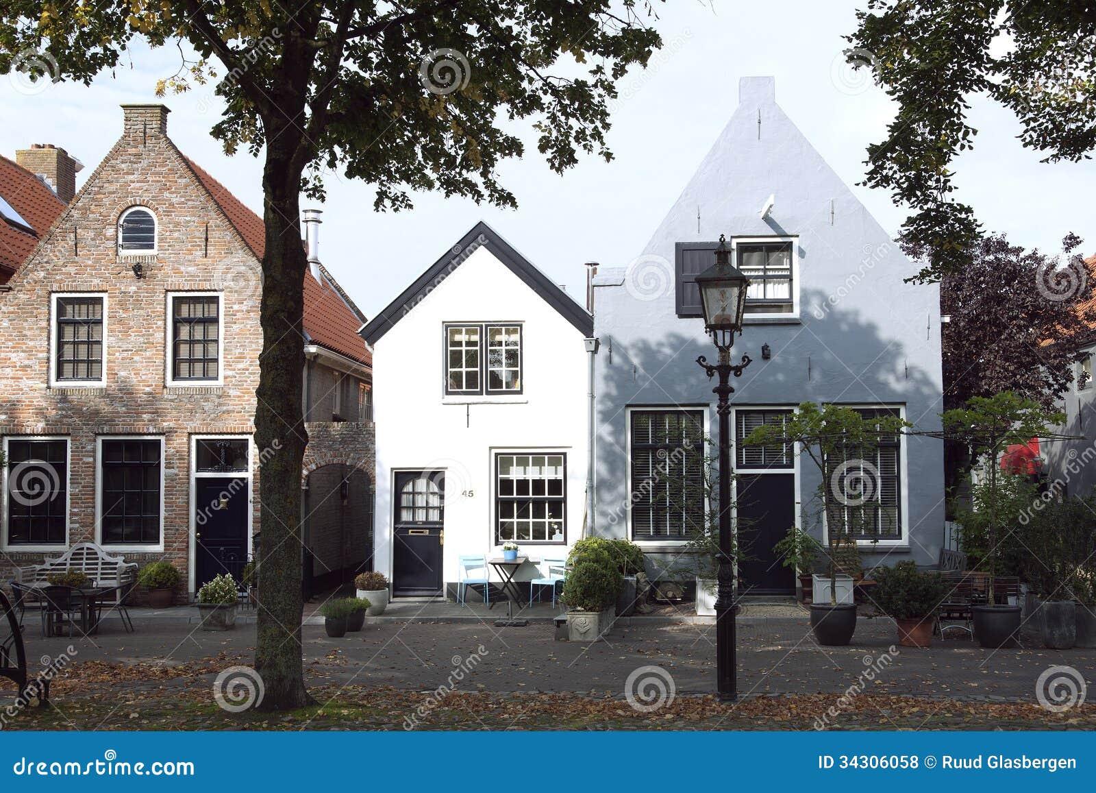 Typowa Holenderska ulica