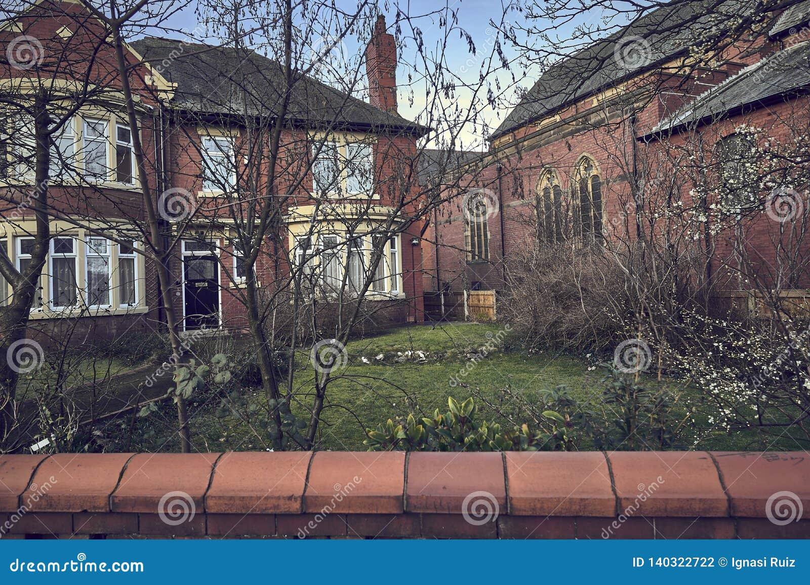 Typowi angielscy domy