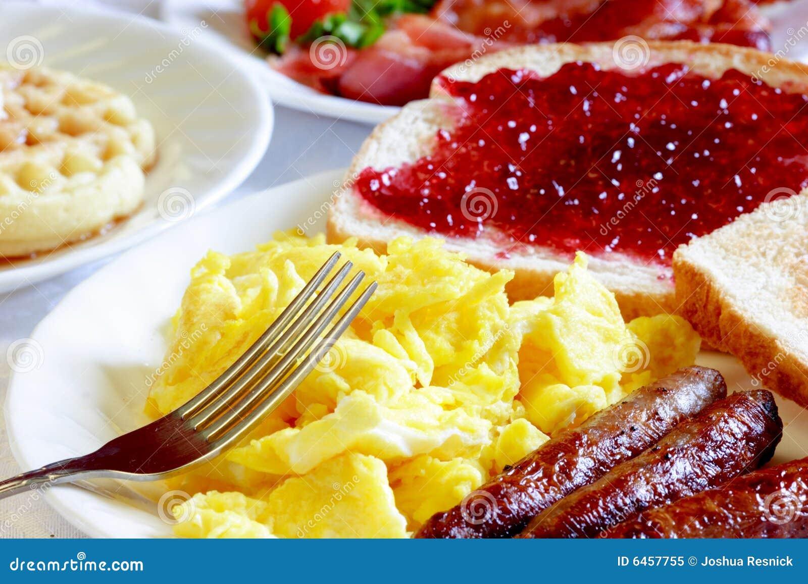 Typowy śniadanie