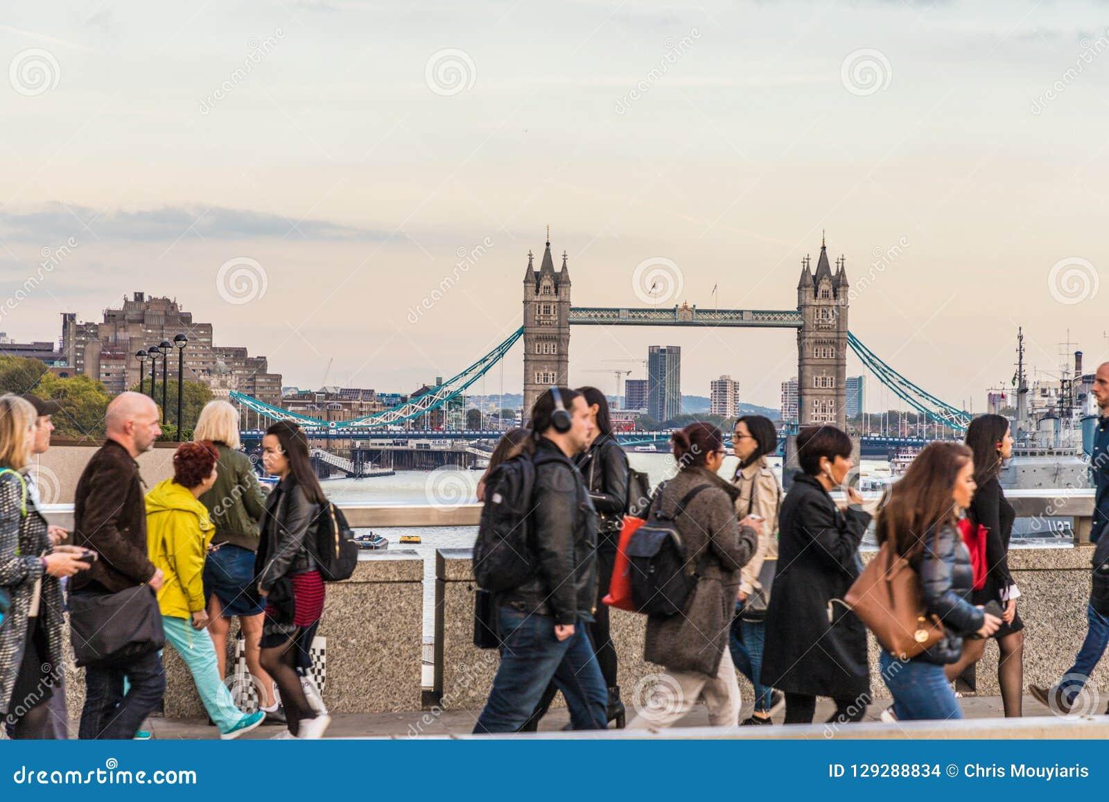 Typowy widok w London