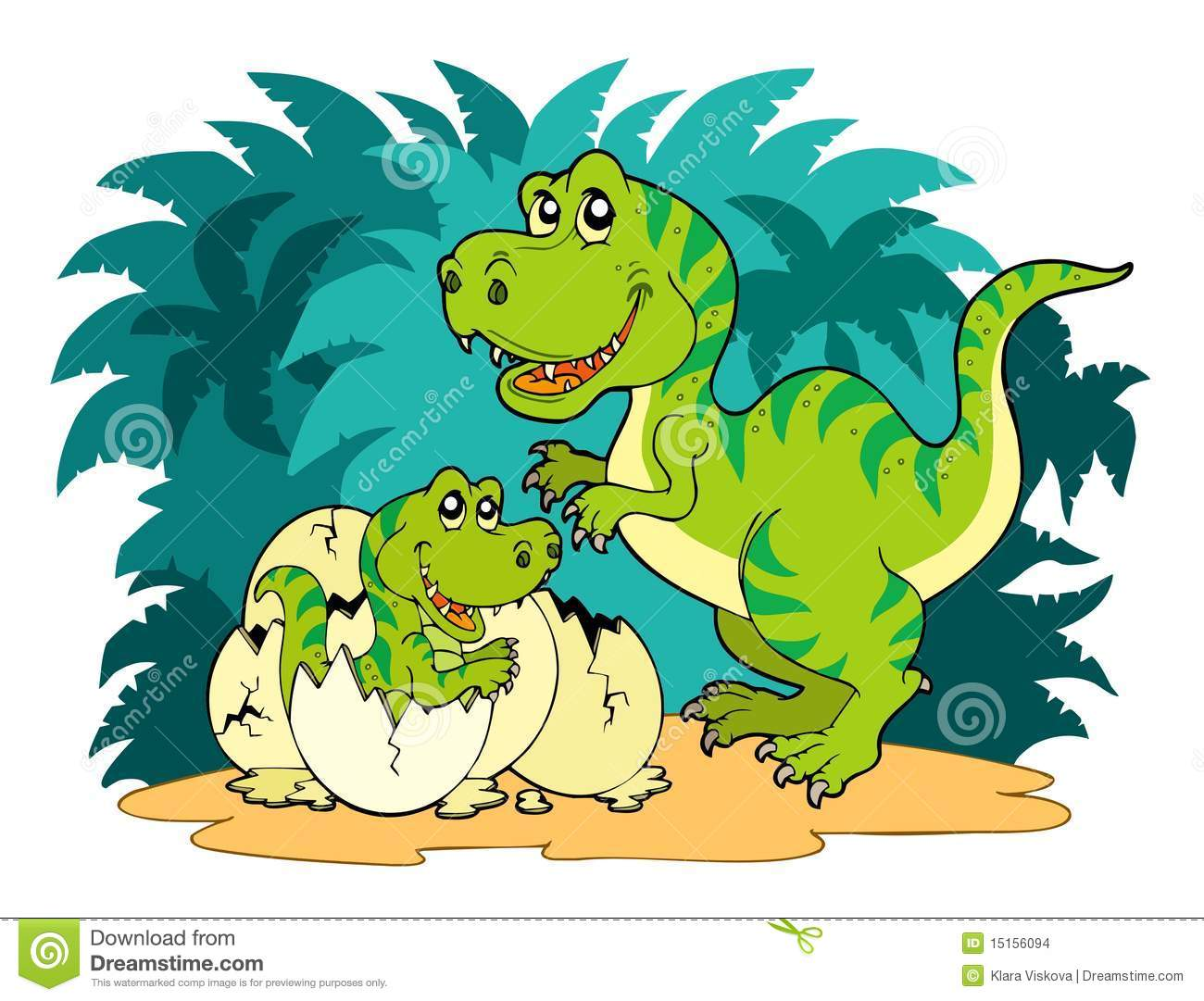 Tyrannosaurus rex family stock images image 15156094 for T rex family