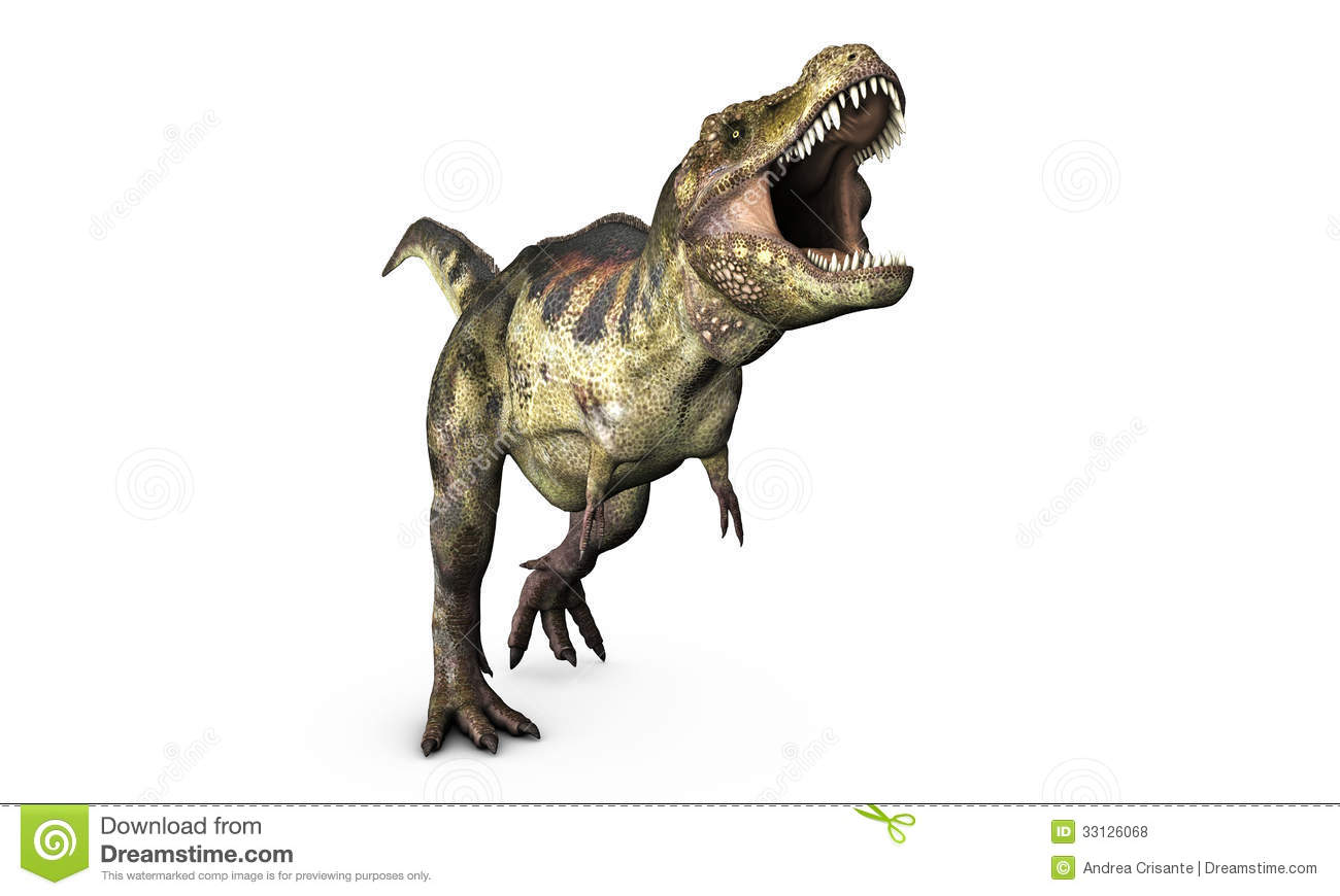 Tyrannosaurus Royalty Free Stock Photos - Image: 33126068