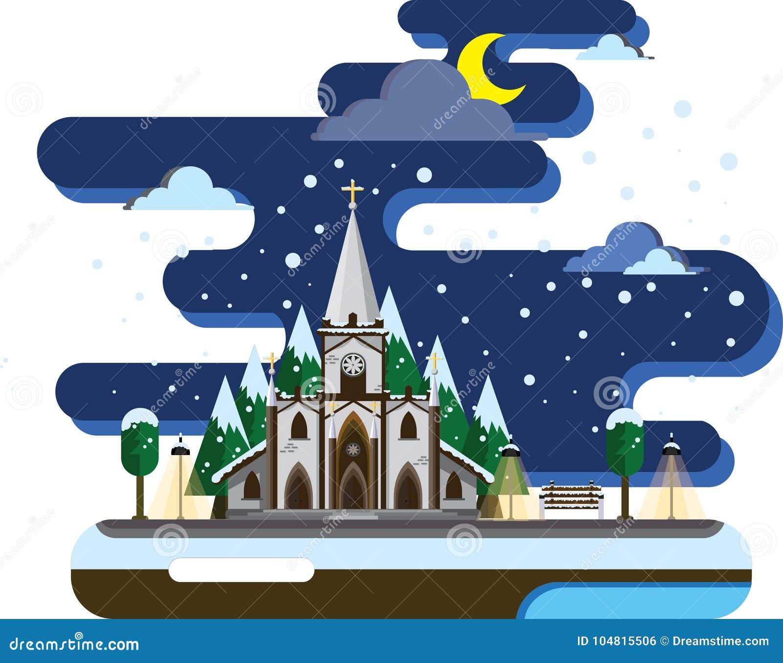 Tyst natt på jul Tid