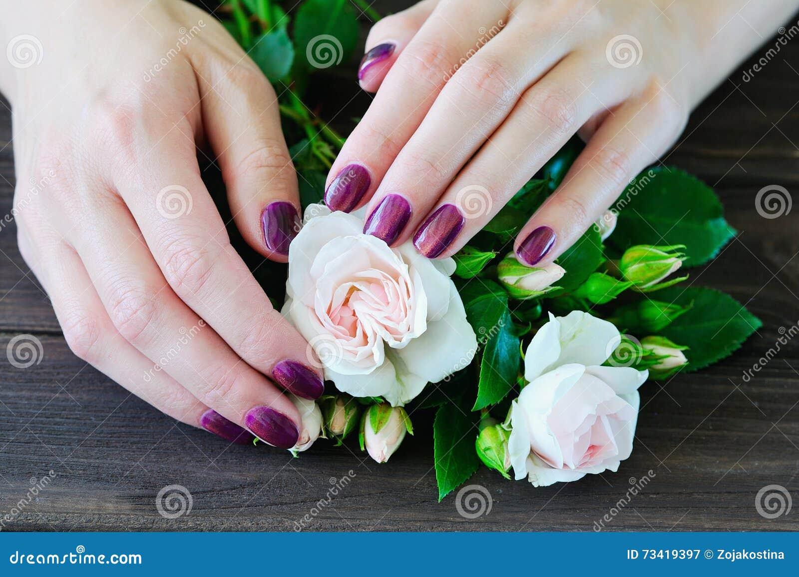 Atractivo Diseños De Uñas De Flores 3d Colección de Imágenes - Ideas ...