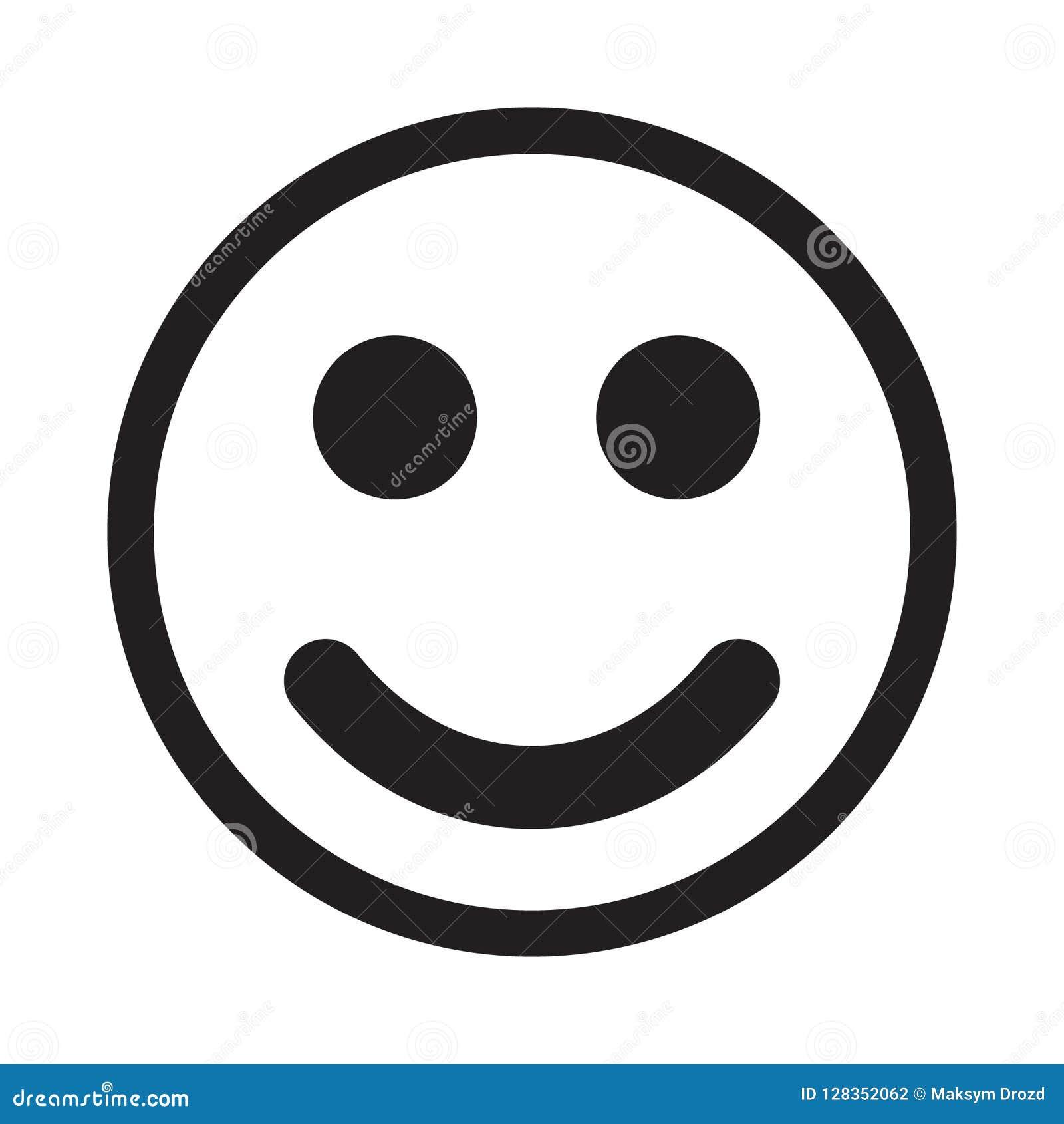 Uśmiech ikony wektor