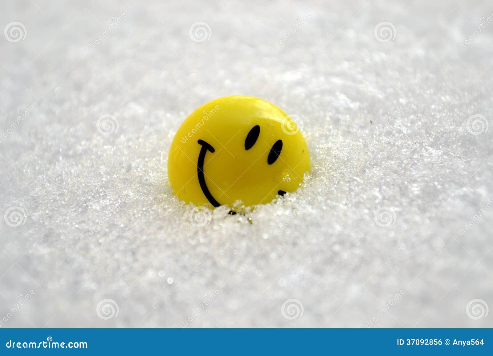 Download Uśmiech na śniegu zdjęcie stock. Obraz złożonej z joyce - 37092856