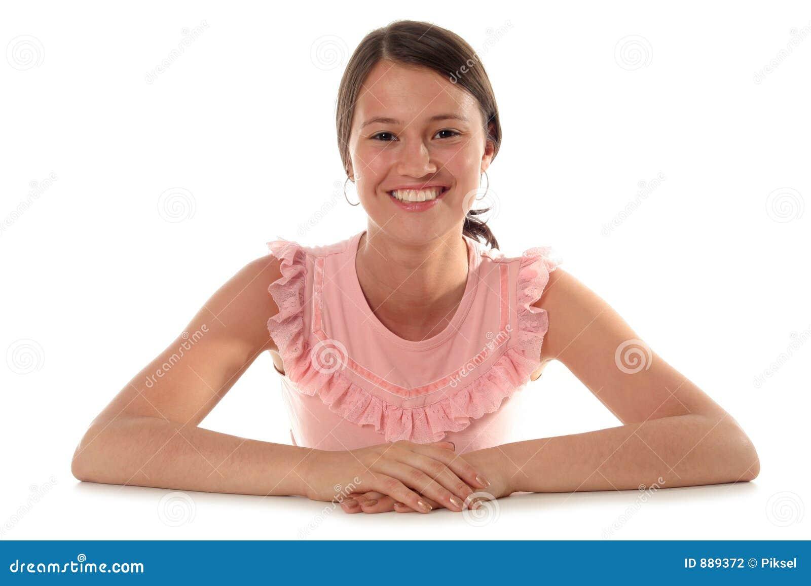 Uśmiechnięci młodych kobiet