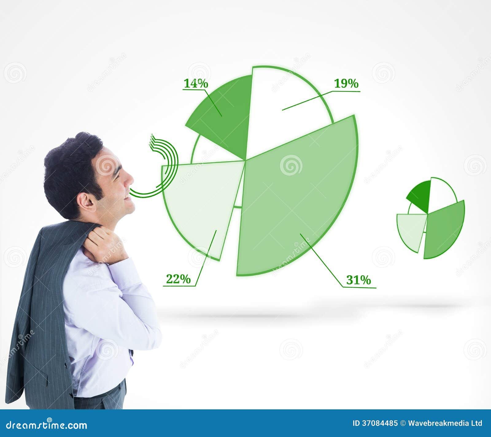 Download Uśmiechnięta Biznesmen Pozycja Obraz Stock - Obraz złożonej z potomstwa, skrót: 37084485