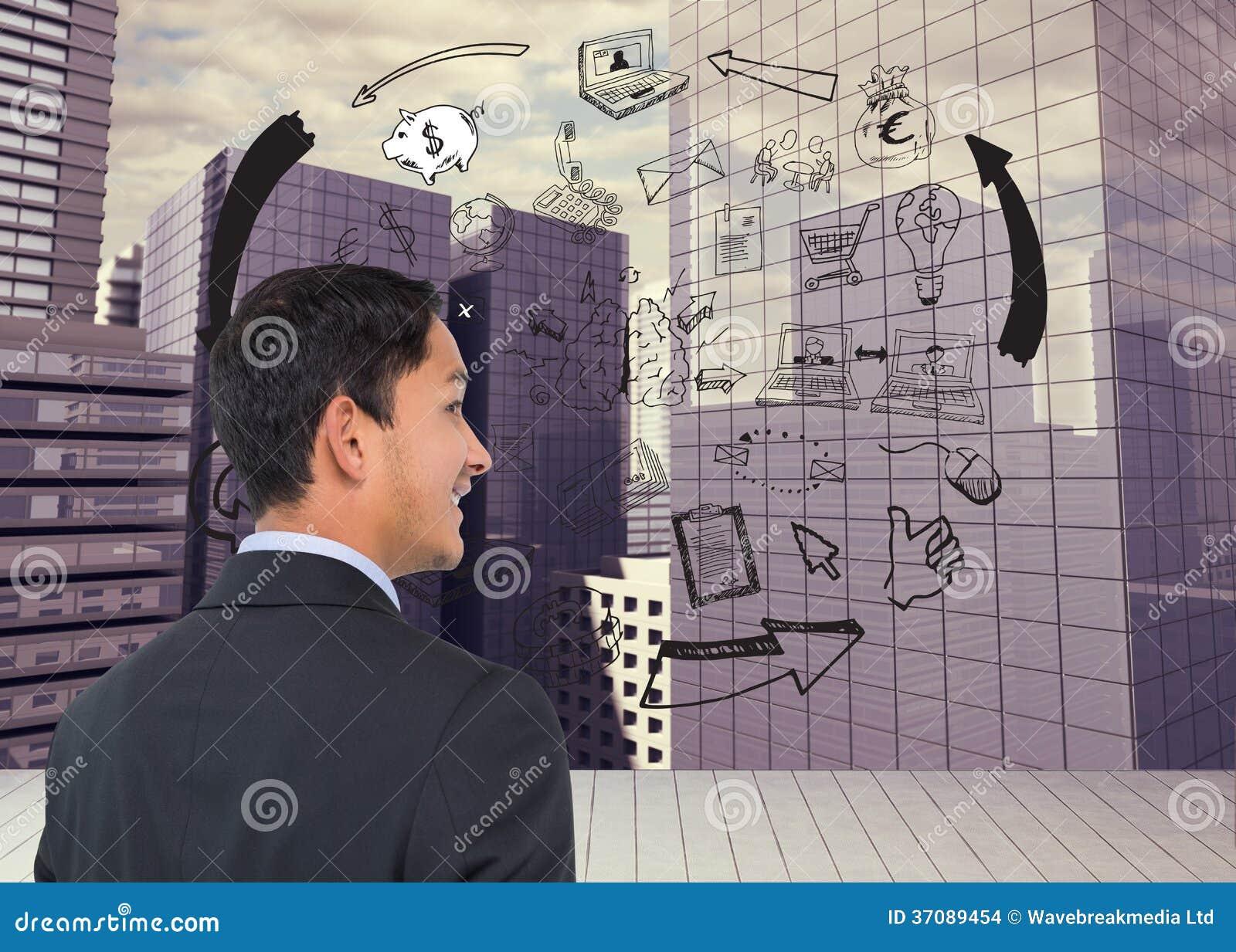 Download Uśmiechnięty Azjatykci Biznesmen Zdjęcie Stock - Obraz złożonej z cykl, miastowy: 37089454