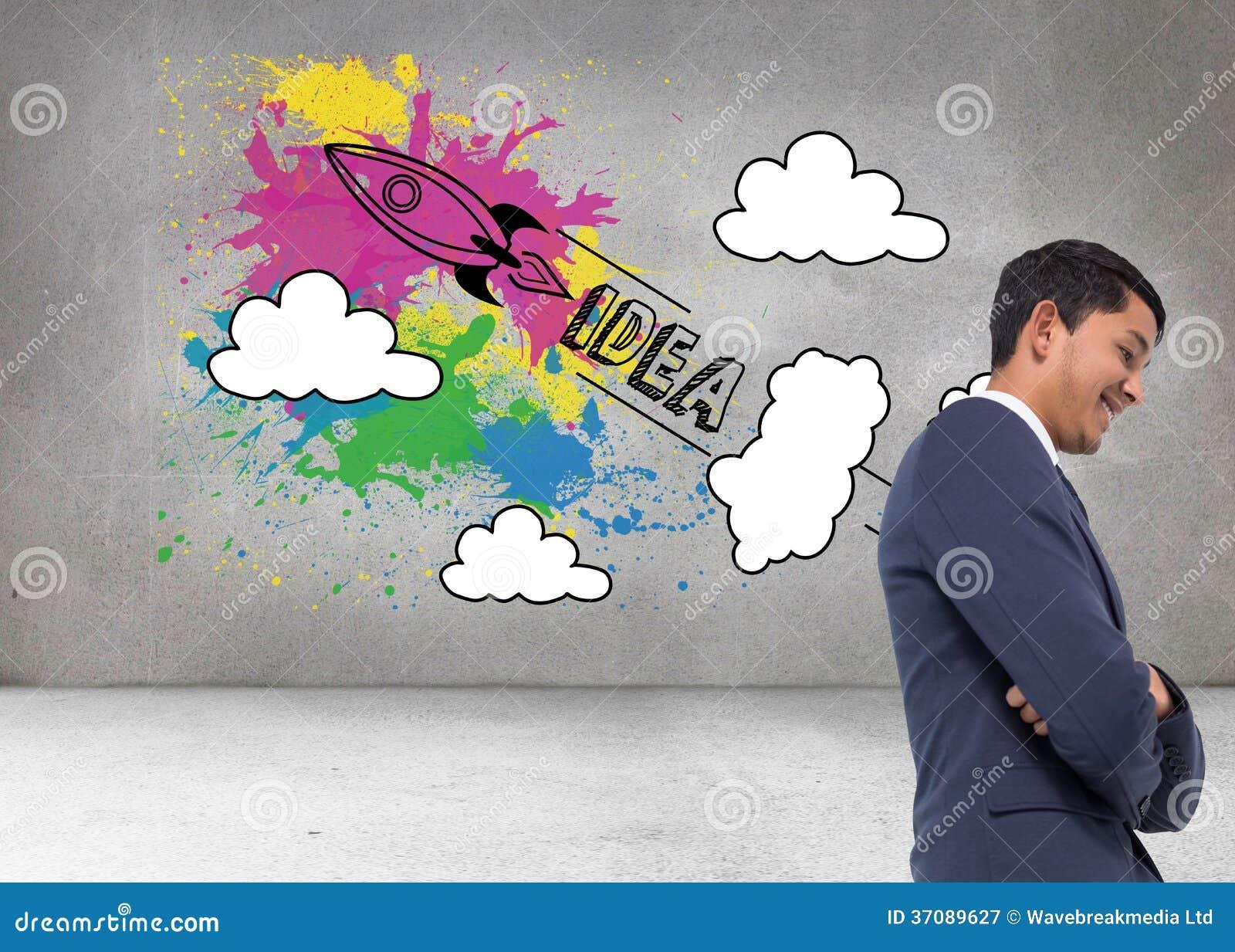 Download Uśmiechnięty Azjatykci Biznesmen Z Rękami Krzyżować Obraz Stock - Obraz złożonej z brąz, osoba: 37089627