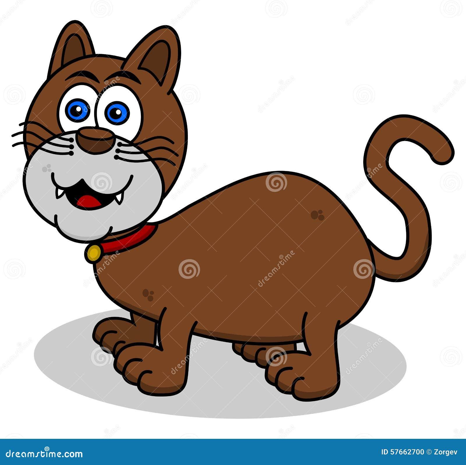 Uśmiechnięty kot na profilu