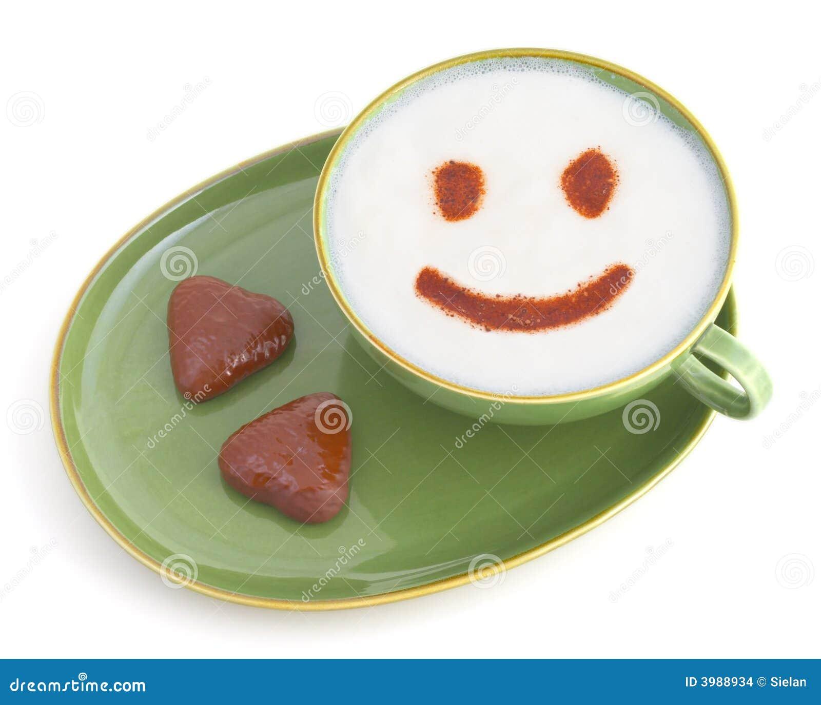 Uśmiechnij się kawy