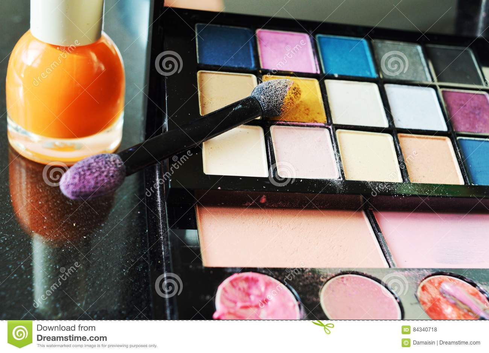 Używać Makeup, zakończenie