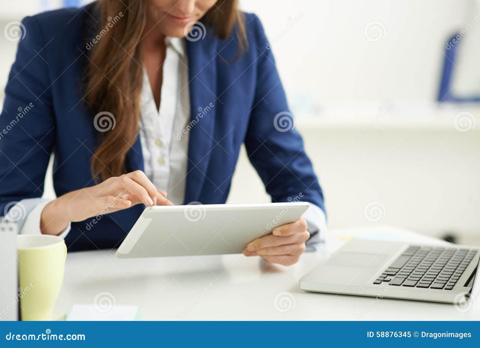 Używać pastylka komputer