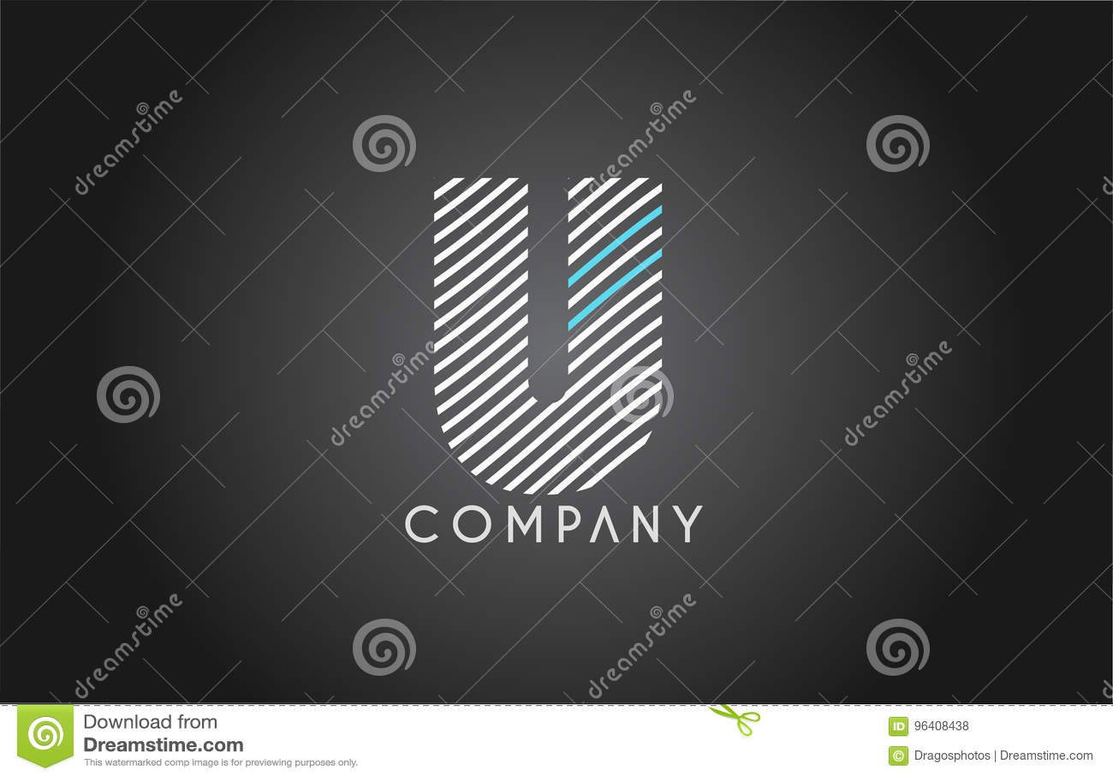 U alphabet line stripe white blue letter logo icon design stock u alphabet line stripe white blue letter logo icon design biocorpaavc Image collections