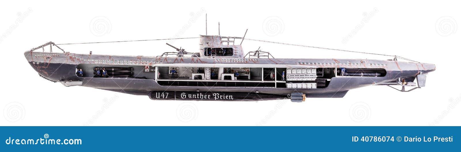 The German submarine U-47 was a Type VIIB U-boat of Nazi Germany's ...