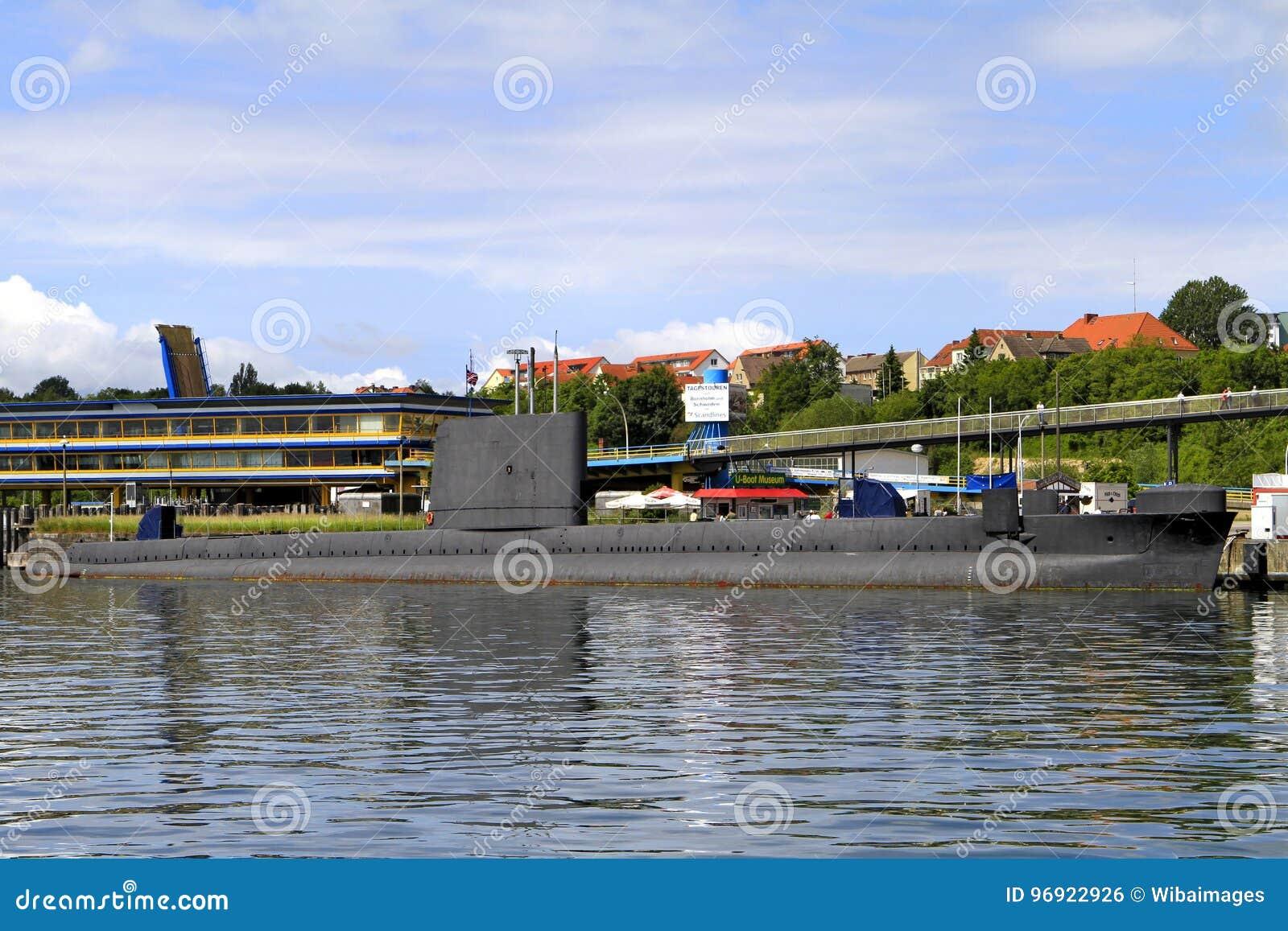U Boot Museum In The Harbour Of Sassnitz Ruegen Island Editorial