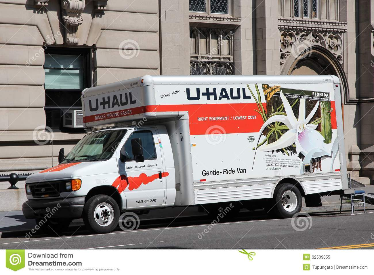 U-Haul truck editorial image. Image of north, united ...