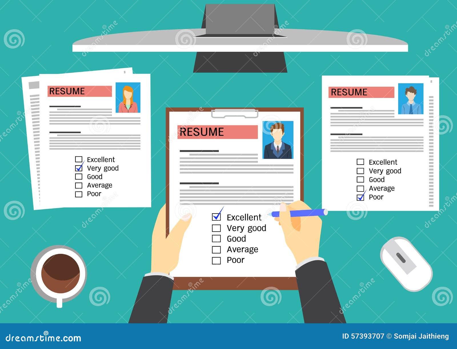 U-manager die kandidaten evalueren