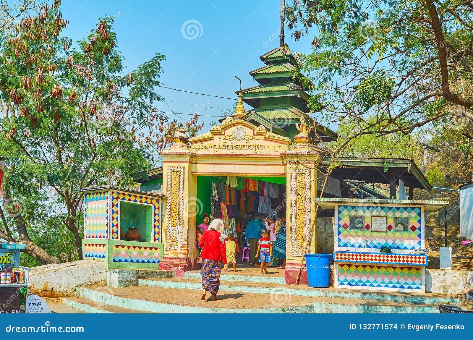 U Min Thonze Temple, Sagaing