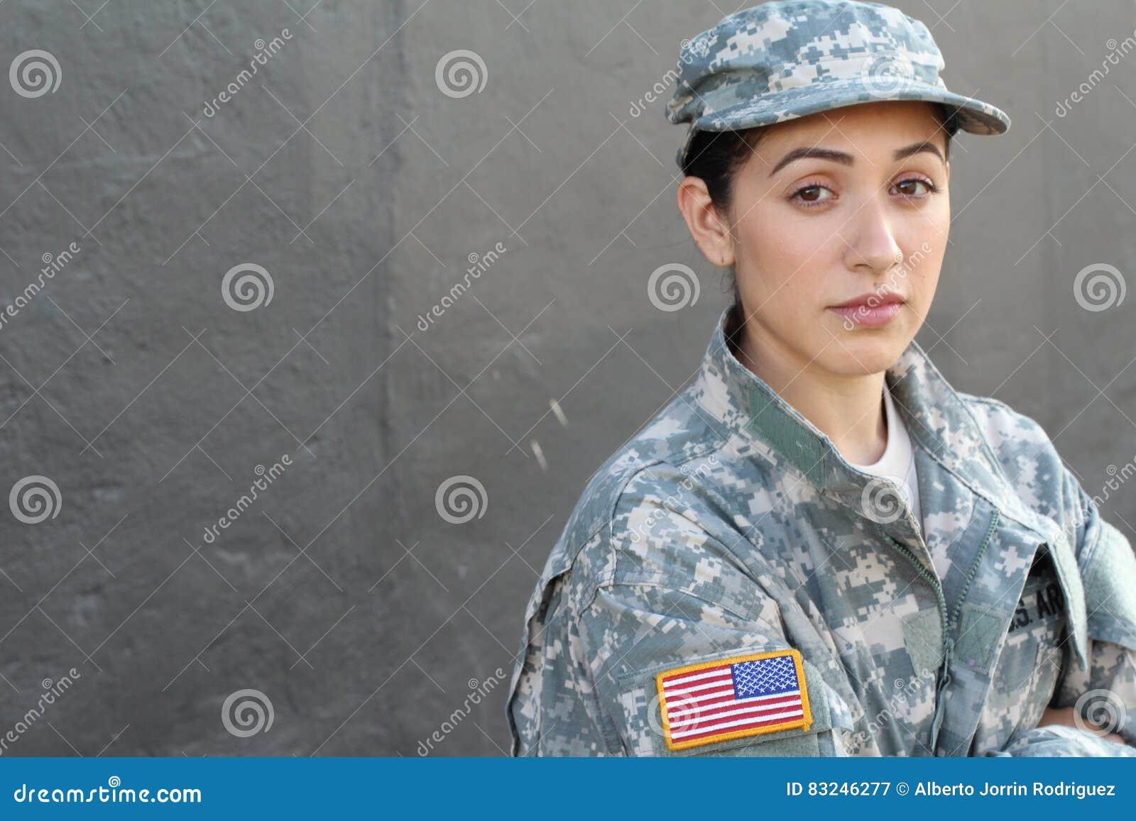U S Armésoldat, sergeant Isolerat tätt upp visningspänning, PTSD eller sorgsenhet