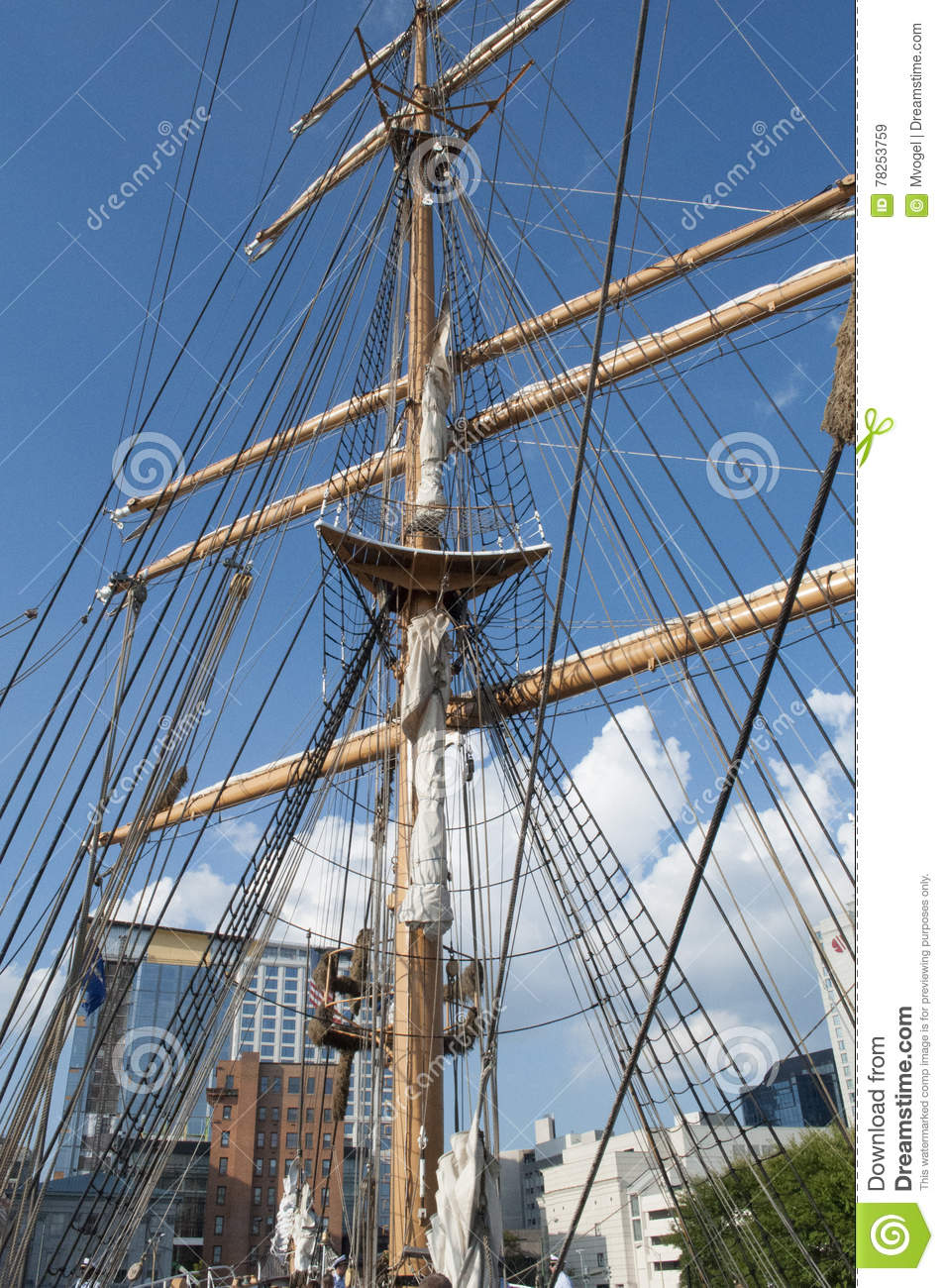 U.S. Coast Guard Tall Ship, The Eagle