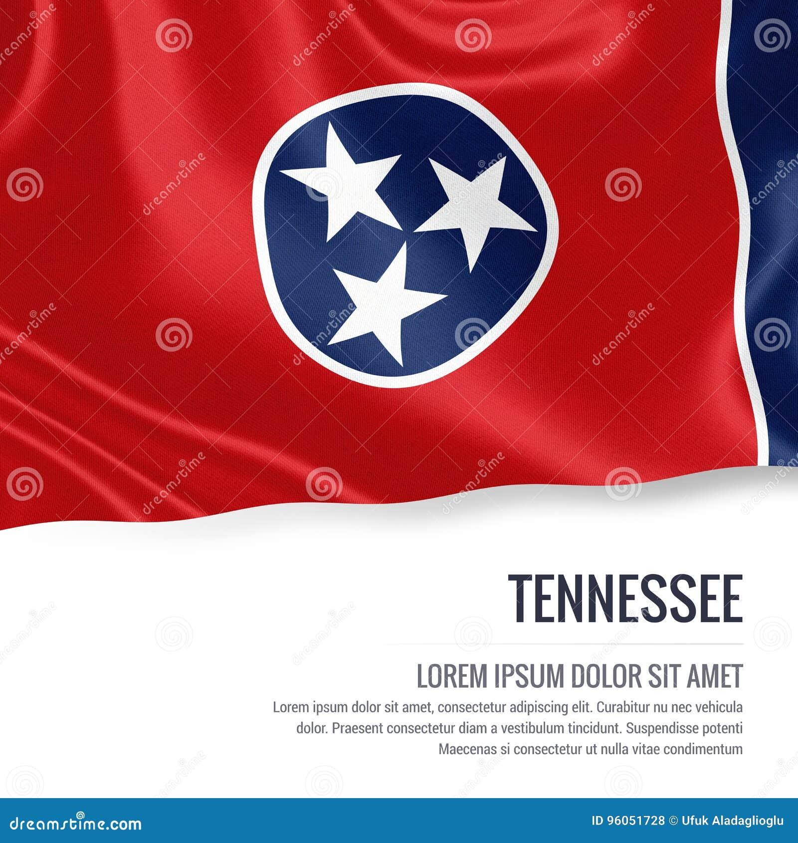 U S drapeau du Tennessee d état