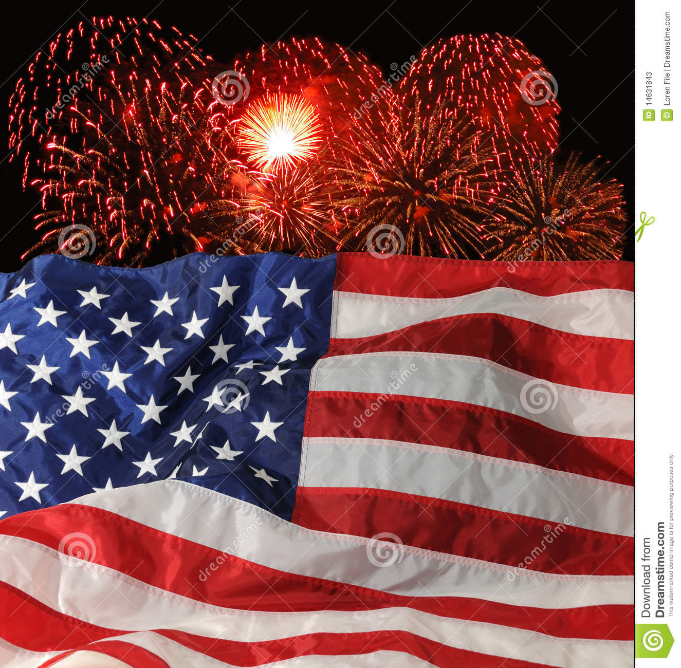 U.S. Indicateur et feux d artifice