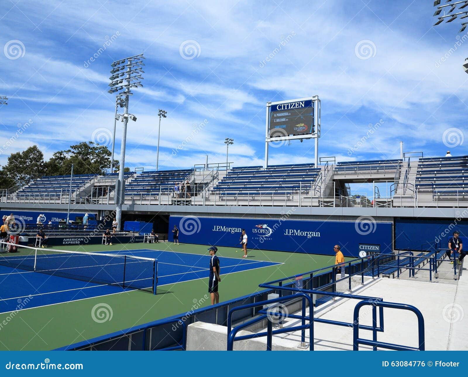Download U S Ouvrez Le Tennis - Cours Latérales Photo éditorial - Image du principal, armstrong: 63084776