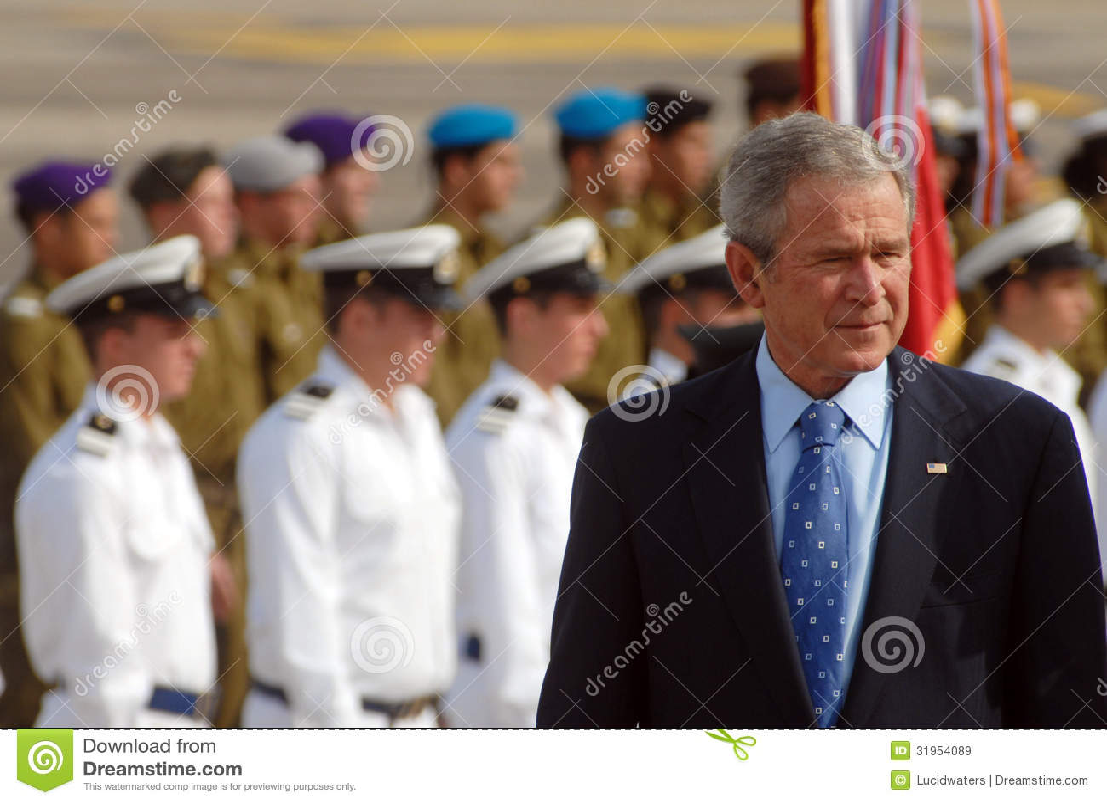 U.S. Visita di presidente George W. Bush ad Israele