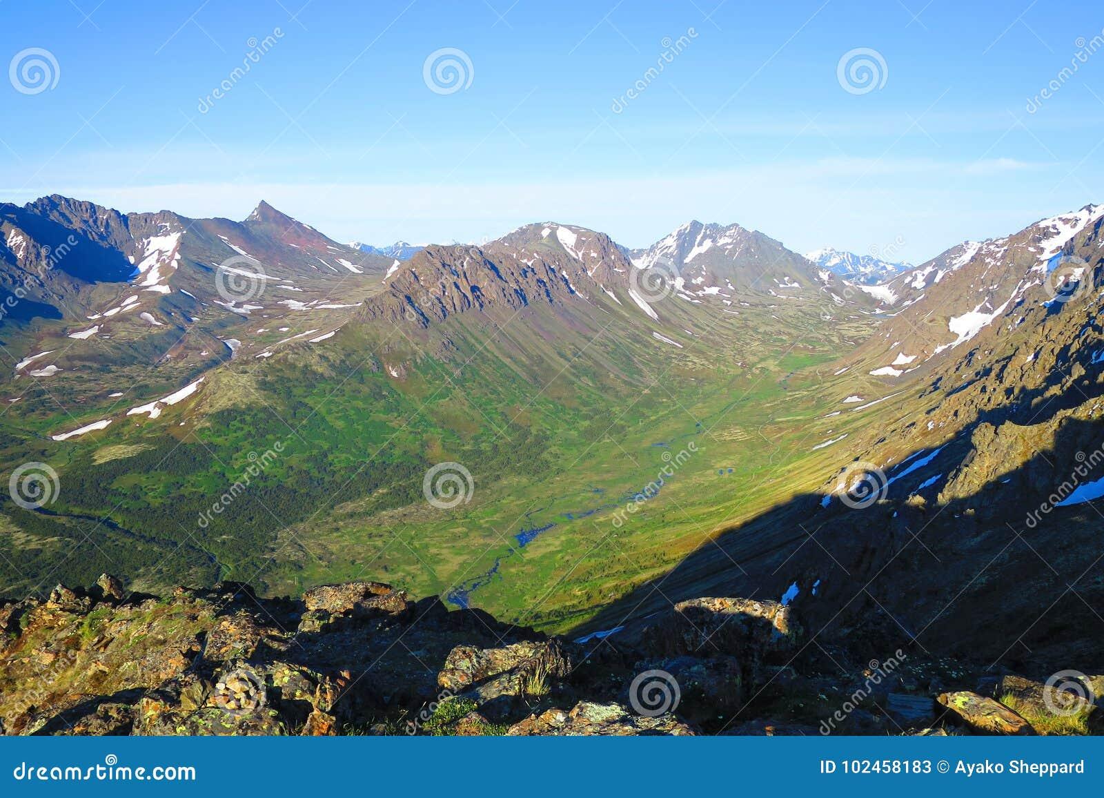 U- Shaped Valley stock image  Image of mountain, geology