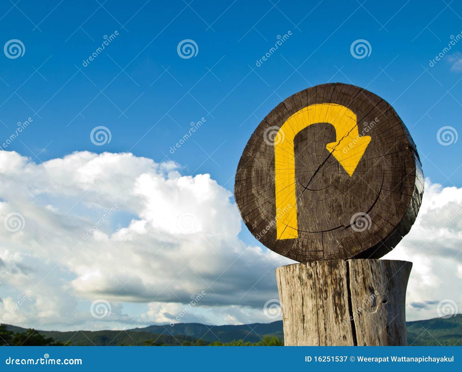 Turn around sign stock image image 35488961 - U Turn Sign Royalty Free Stock Photography