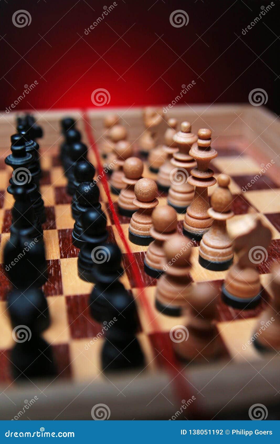 U ziet niet alleen schaak onder ogen