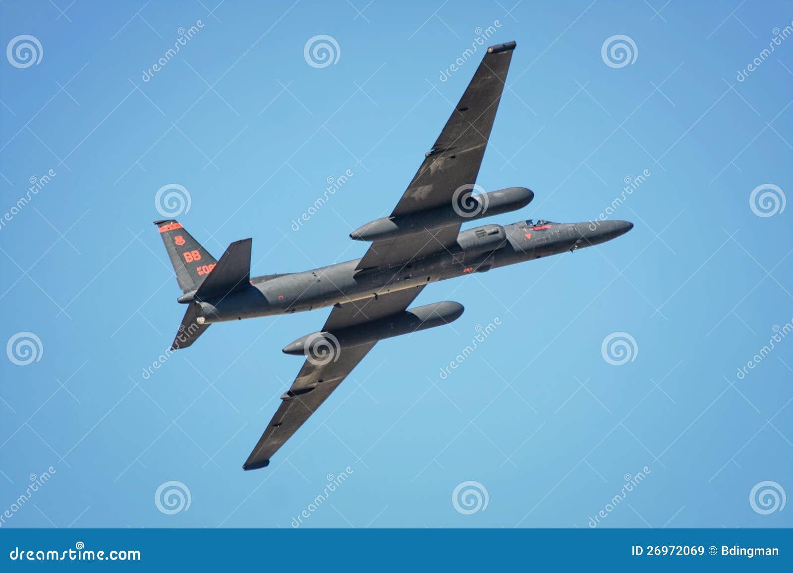 U2 Reconnaissance Aircraft editorial stock image  Image of