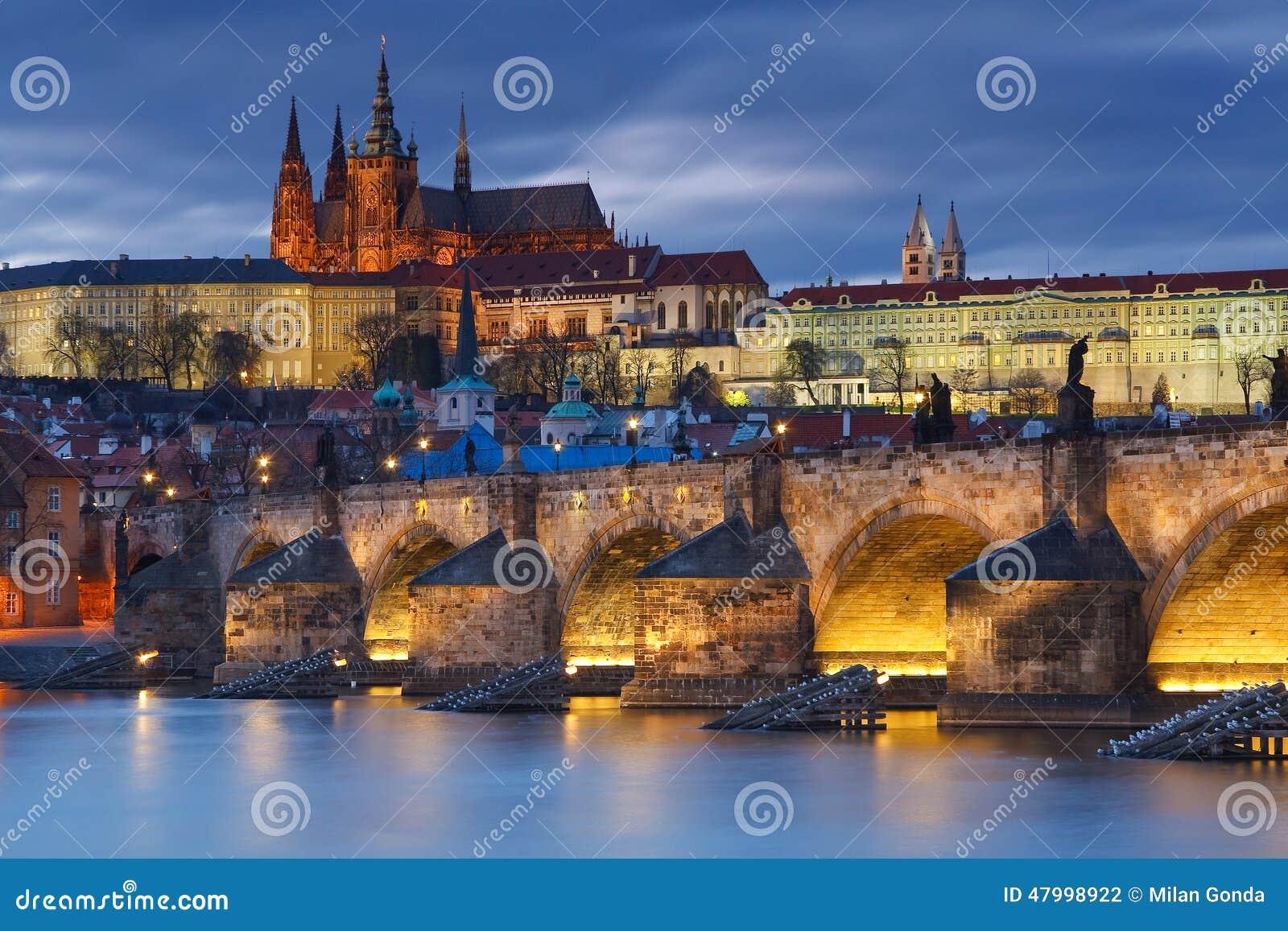 跟我走吧,我们去布拉格城堡