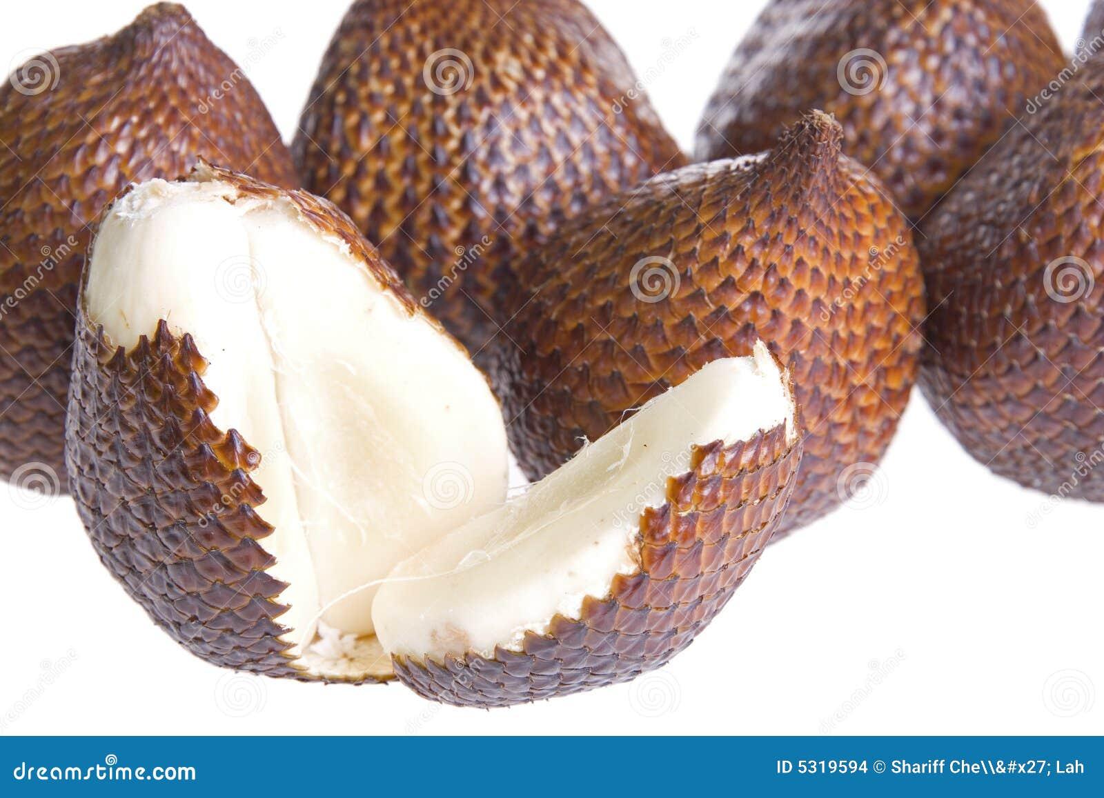 接近的buah通常结果实图象查出的已知的局部salak曲折前进.