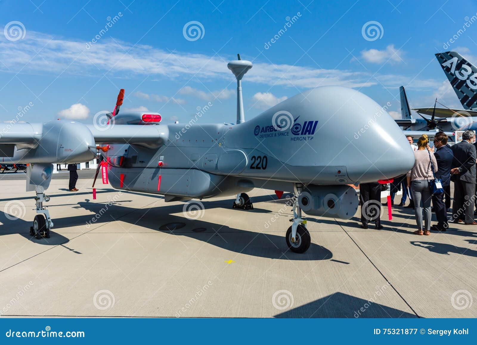 UAV IAI Eitan de reconnaissance (immuablement), également connu sous le nom de héron TP par la division de Malat d Israel Aerospa