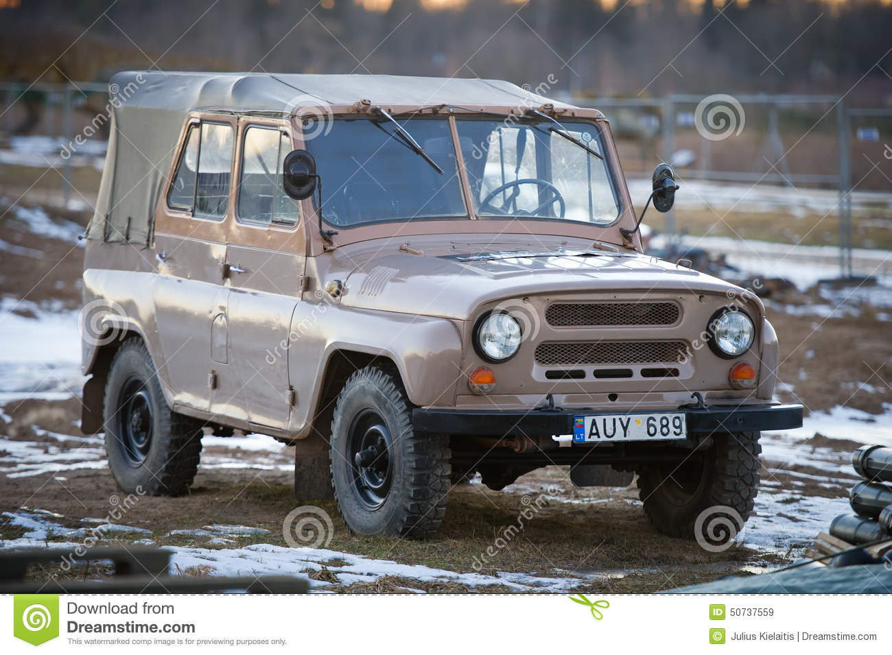 Old Car Uaz Editorial Photography Image