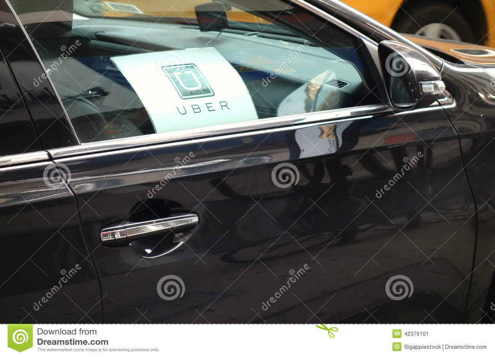 Uber bil