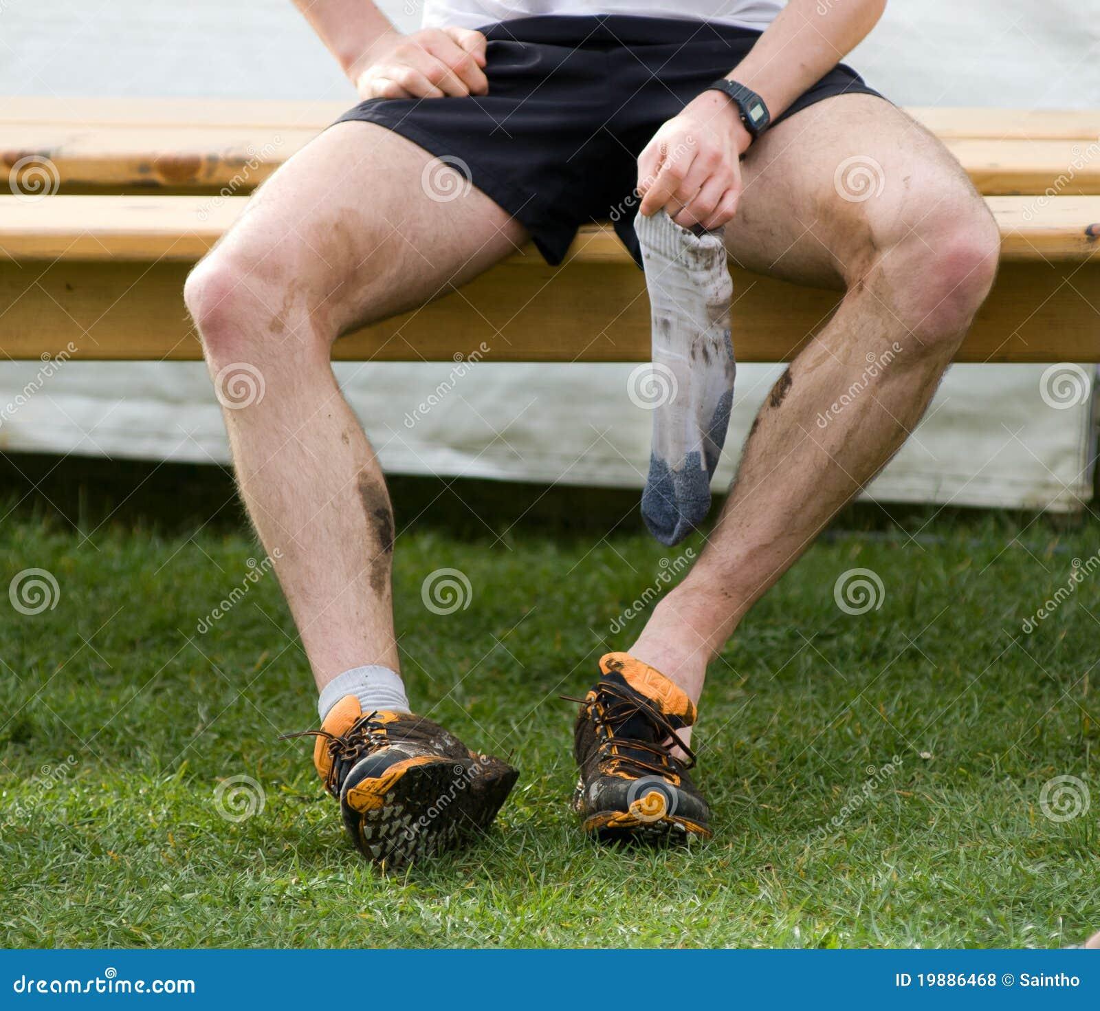Ubicazione del corridore dopo la corsa di piede