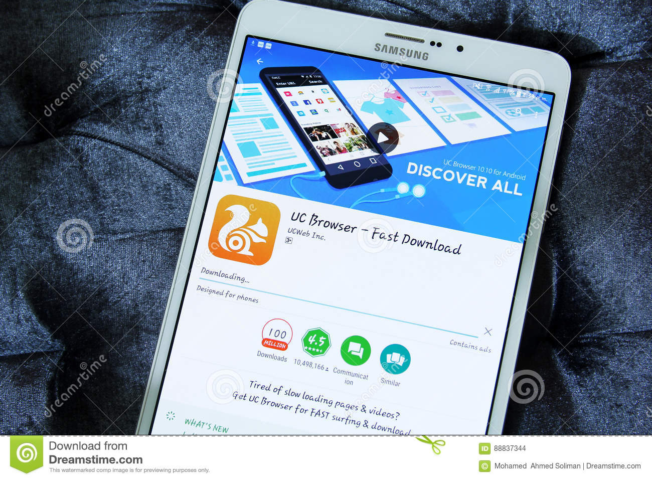open play store and download uc browser